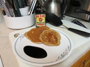 """MY"" pancake plate!"