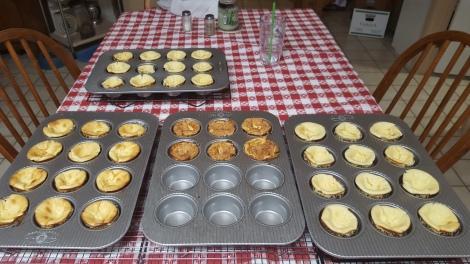 Keto chesecake muffins